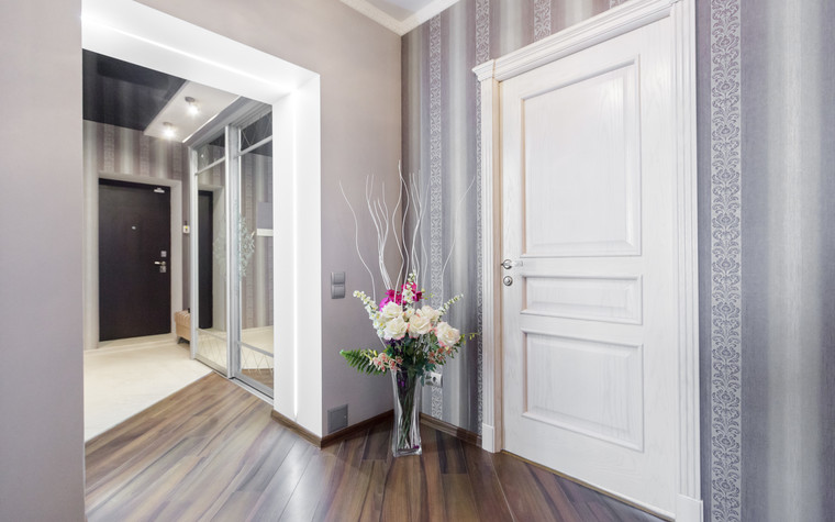 Квартира. холл из проекта Стильный черный, фото №103096