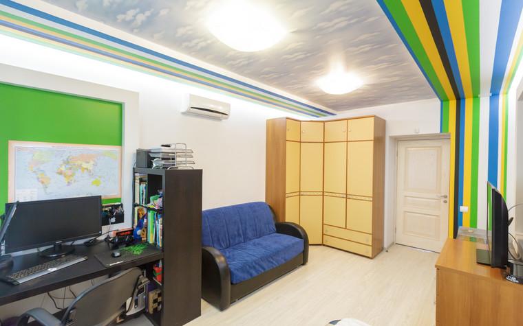 Квартира. детская из проекта Стильный черный, фото №103084