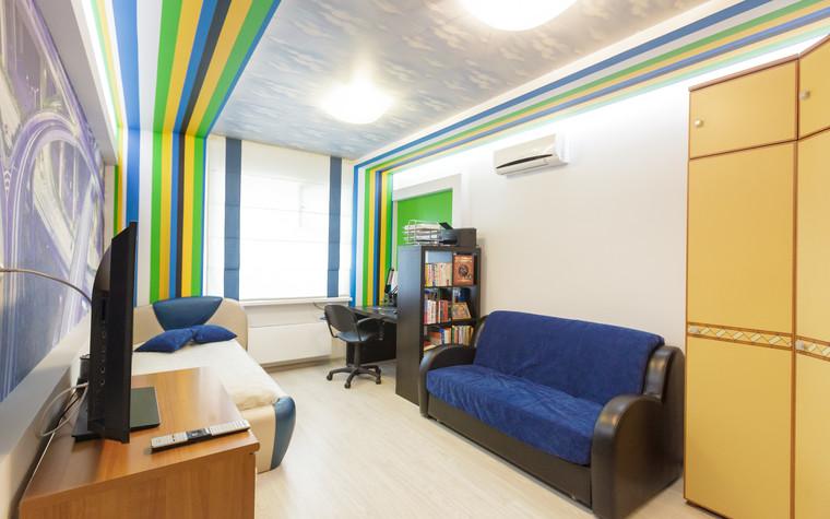 Квартира. детская из проекта Стильный черный, фото №103087