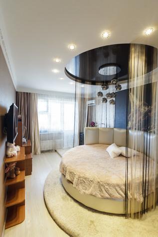 Квартира. спальня из проекта Стильный черный, фото №103078