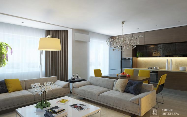 Квартира. гостиная из проекта Интерьер 3-х комнатной квартиры, фото №103208