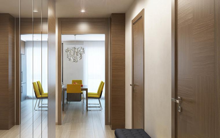 Квартира. прихожая из проекта Интерьер 3-х комнатной квартиры, фото №103214
