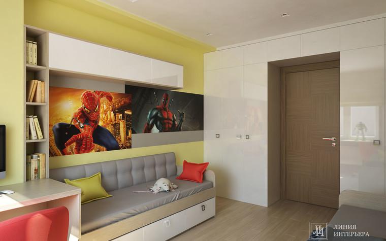 Квартира. детская из проекта Интерьер 3-х комнатной квартиры, фото №103212