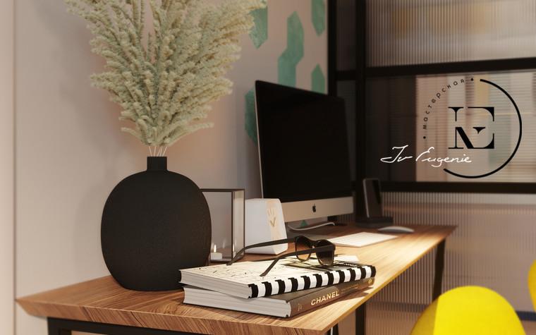 Квартира. гостиная из проекта Графичный Soleray в ЖК Хорошевский., фото №104026