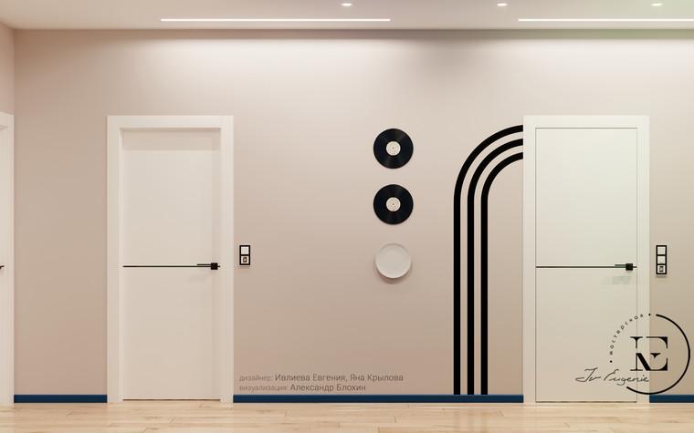 Квартира. прихожая из проекта Графичный Soleray в ЖК Хорошевский., фото №104035