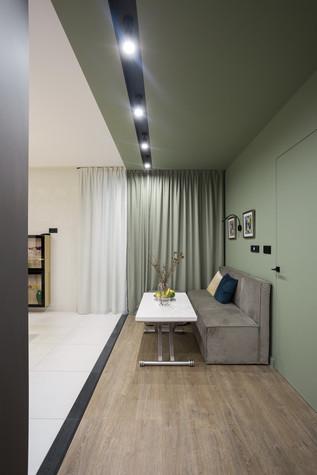 Квартира. гостиная из проекта Цветом как звуком, фото №104058