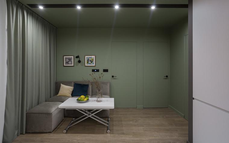 Квартира. гостиная из проекта Цветом как звуком, фото №104059