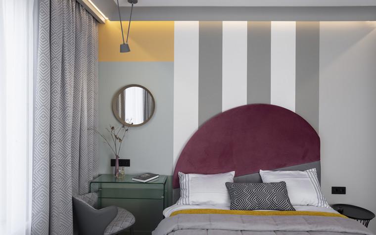 Квартира. спальня из проекта Цветом как звуком, фото №104061