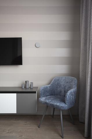 Квартира. спальня из проекта Цветом как звуком, фото №104063