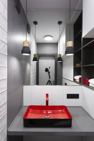 Квартира. санузел из проекта Цветом как звуком, фото №104076
