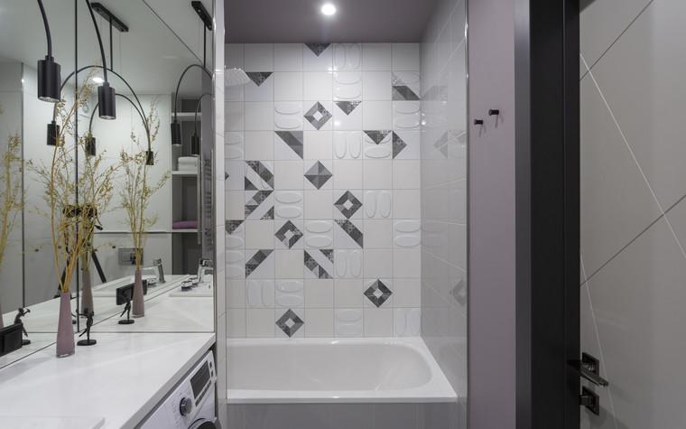 Квартира. ванная из проекта Цветом как звуком, фото №104077