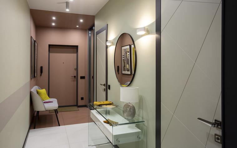 Квартира. коридор из проекта Цветом как звуком, фото №104051