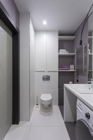 Квартира. ванная из проекта Цветом как звуком, фото №104078