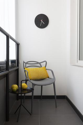Квартира. веранда лоджия из проекта Цветом как звуком, фото №104080
