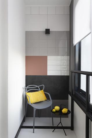 Квартира. веранда лоджия из проекта Цветом как звуком, фото №104081
