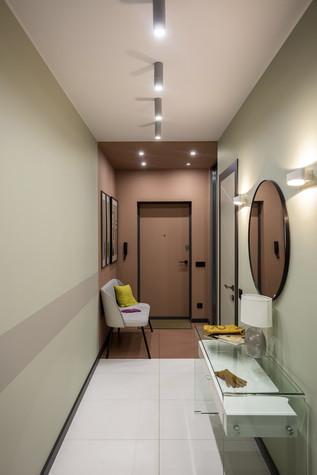 Квартира. коридор из проекта Цветом как звуком, фото №104053