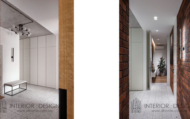 Квартира. прихожая из проекта URBAN LIGHT, фото №104124