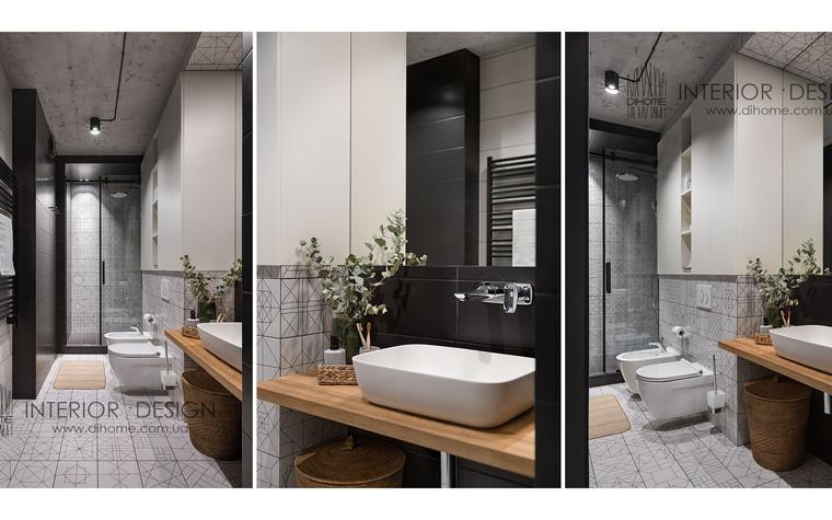 Квартира. ванная из проекта URBAN LIGHT, фото №104123
