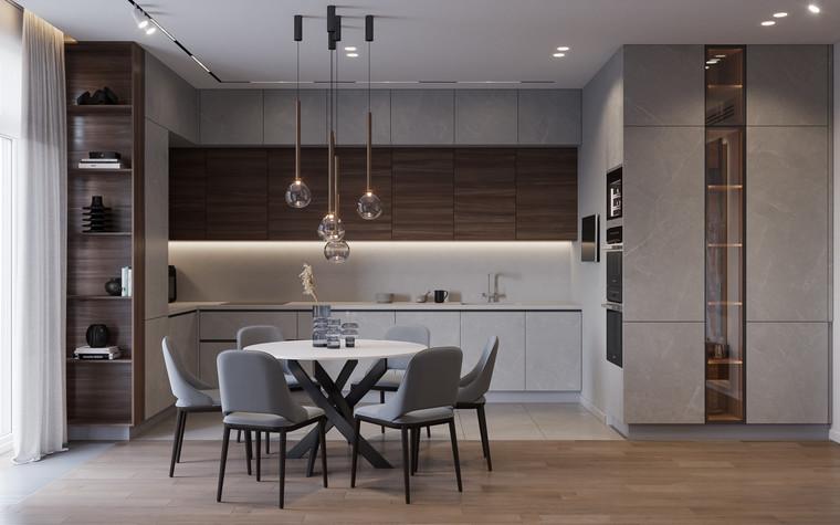 Квартира. гостиная из проекта Дизайн-проект квартиры, ЖК Зиларт, фото №104141