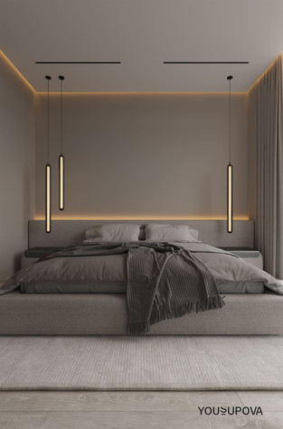 Квартира. спальня из проекта S028, фото №104182