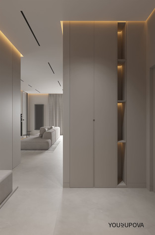 Квартира. прихожая из проекта S028, фото №104177