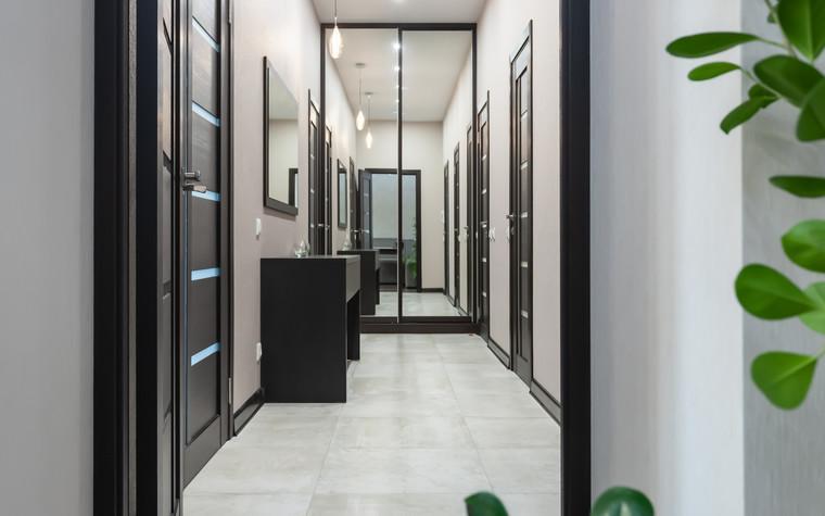 Квартира. коридор из проекта Квартира в г.Ростове-на-Дону, фото №104201