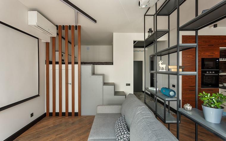 Квартира. гостиная из проекта Макси в Мини, фото №104240