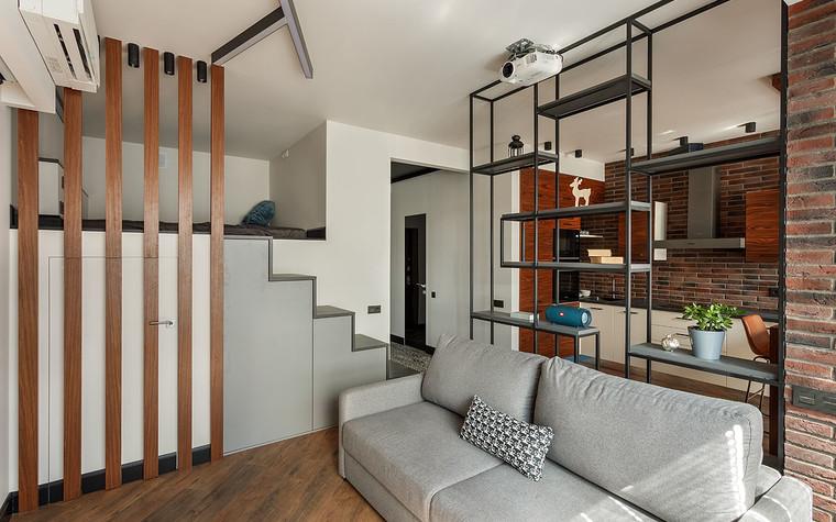 Квартира. гостиная из проекта Макси в Мини, фото №104242