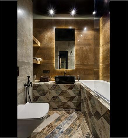 Квартира. ванная из проекта Макси в Мини, фото №104245