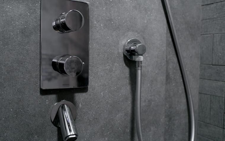 Квартира. ванная из проекта Современный стиль, фото №104260
