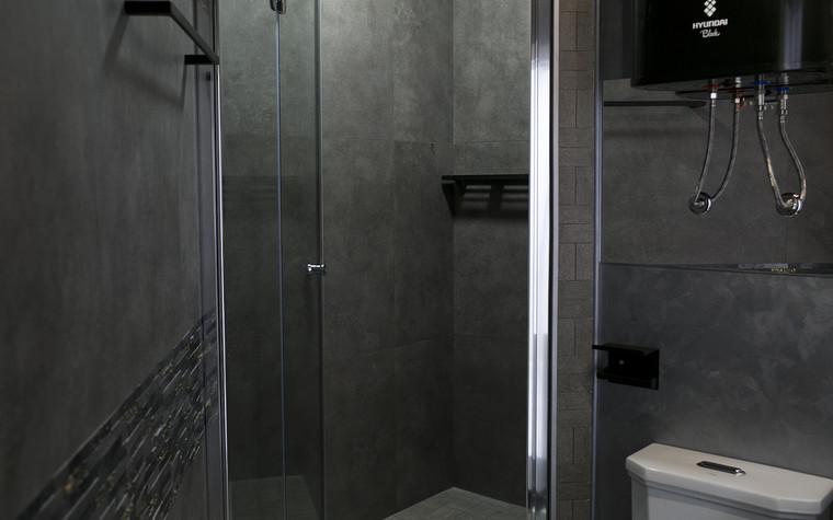 Квартира. ванная из проекта Современный стиль, фото №104261