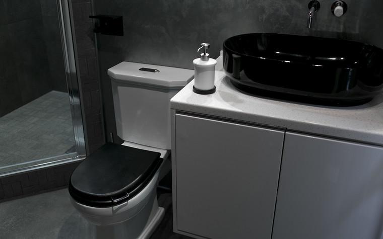 Квартира. ванная из проекта Современный стиль, фото №104262