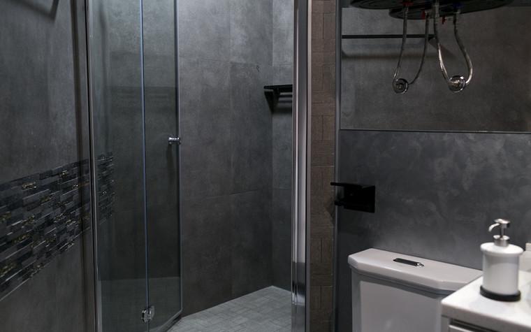 Квартира. ванная из проекта Современный стиль, фото №104263