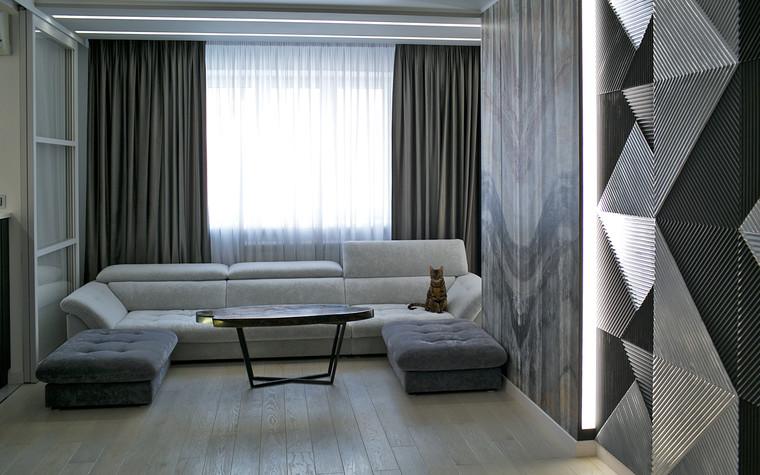 Квартира. гостиная из проекта Современный стиль, фото №104265