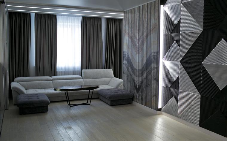 Квартира. гостиная из проекта Современный стиль, фото №104266
