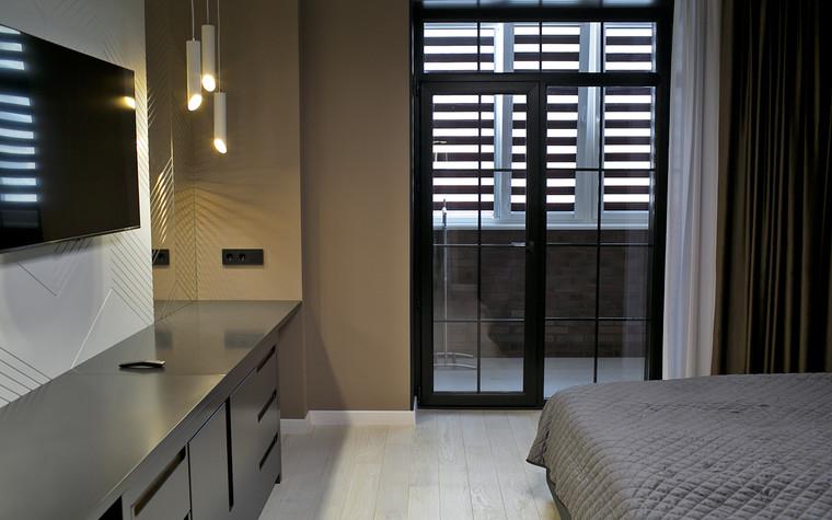 Квартира. спальня из проекта Современный стиль, фото №104277