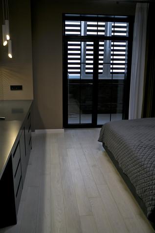 Квартира. спальня из проекта Современный стиль, фото №104278