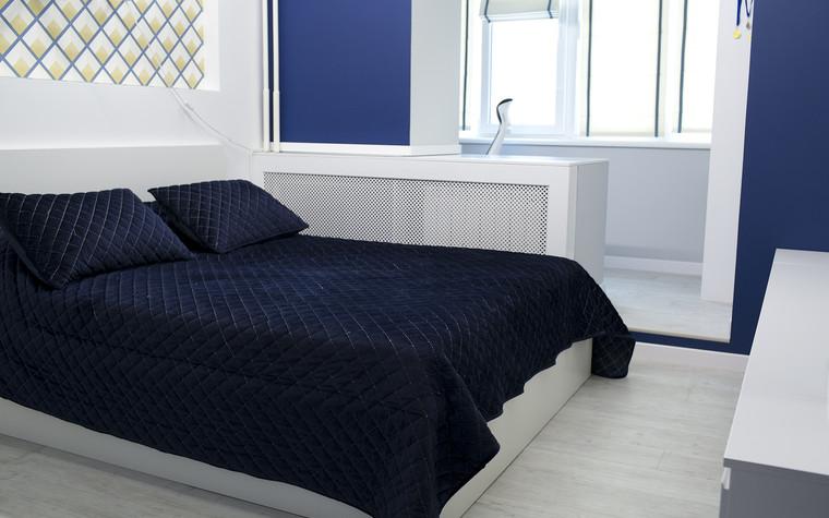 Квартира. спальня из проекта Современный стиль, фото №104280