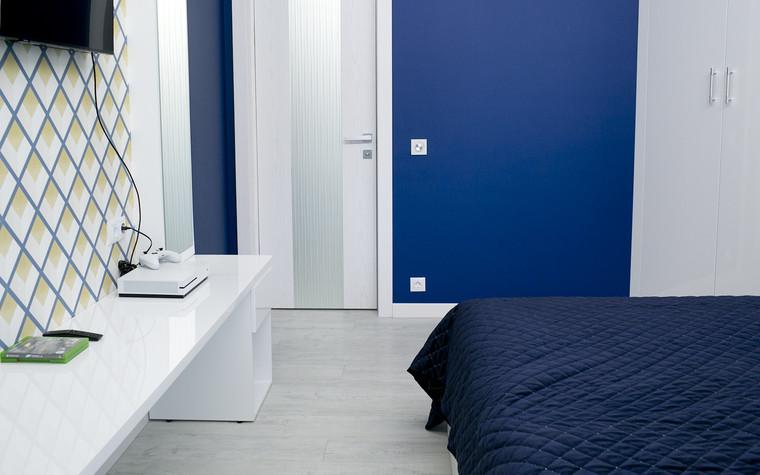 Квартира. спальня из проекта Современный стиль, фото №104281