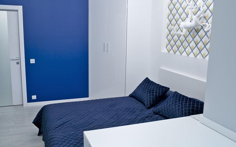 Квартира. спальня из проекта Современный стиль, фото №104282