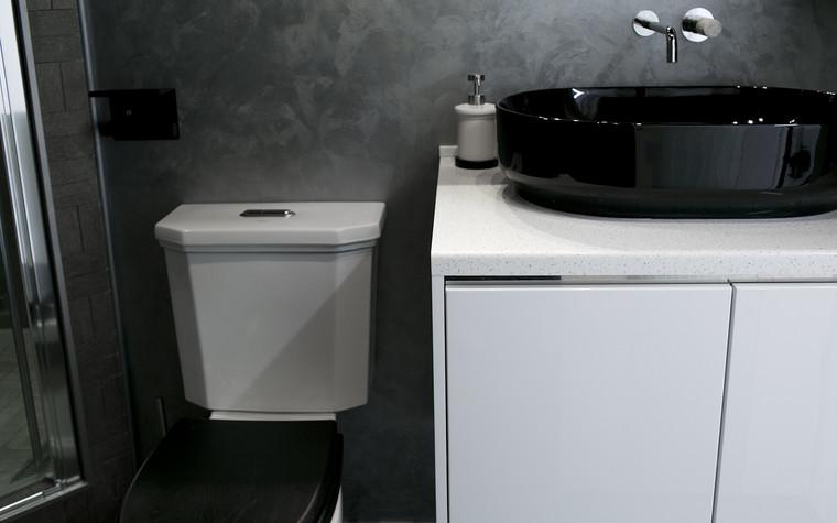Квартира. ванная из проекта Современный стиль, фото №104258