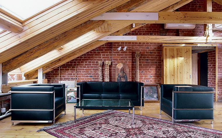 Квартира. гостиная из проекта , фото №15629