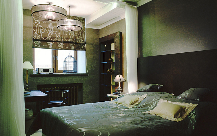 Фото № 15393 спальня  Квартира
