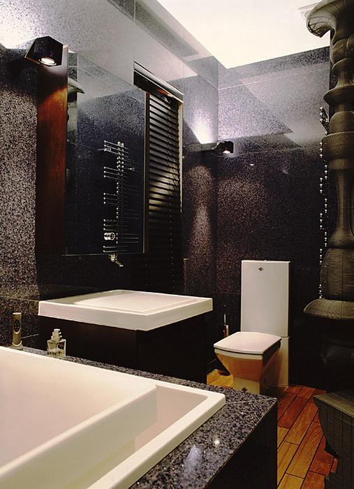 Квартира. ванная из проекта , фото №15407