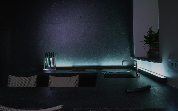 Квартира. кухня из проекта , фото №15401