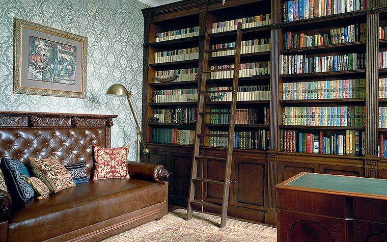 интерьер кабинета - фото № 14934