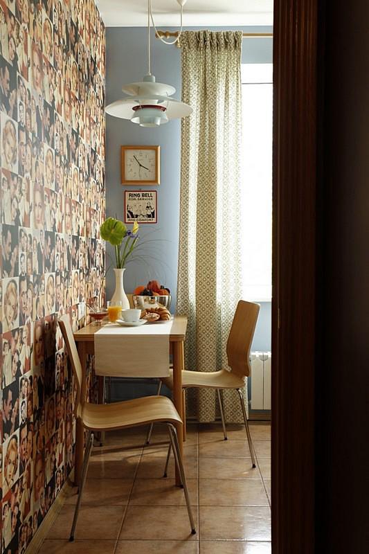 Квартира. кухня из проекта , фото №10665
