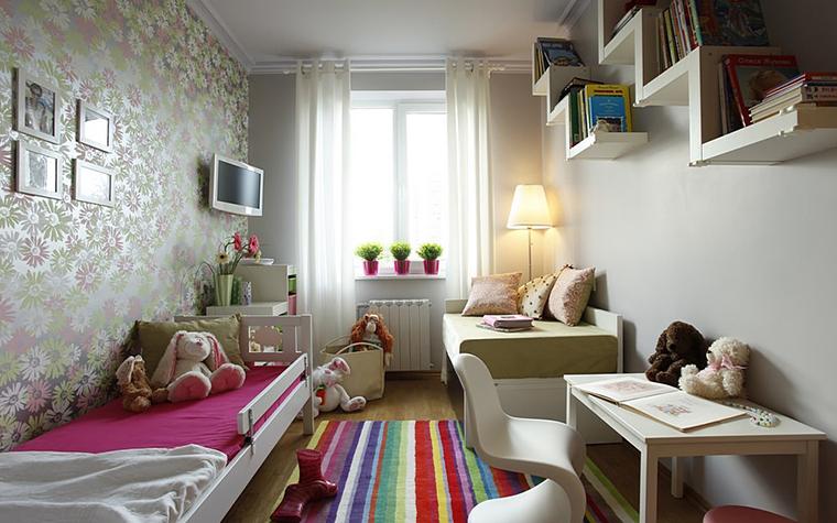 Квартира. детская из проекта , фото №10659