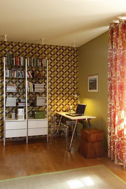 Фото № 10656 кабинет библиотека  Квартира
