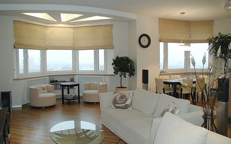 Квартира. гостиная из проекта , фото №10690